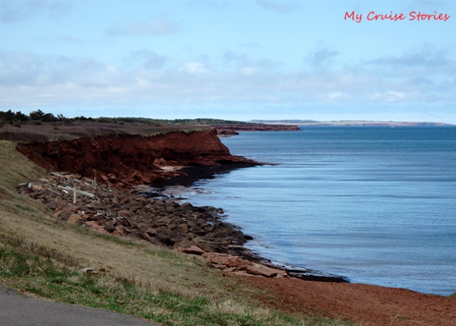 red soil of Prince Edward Island