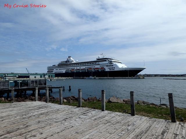 cruise ship in Canada
