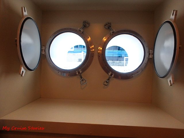 cruise ship portholes