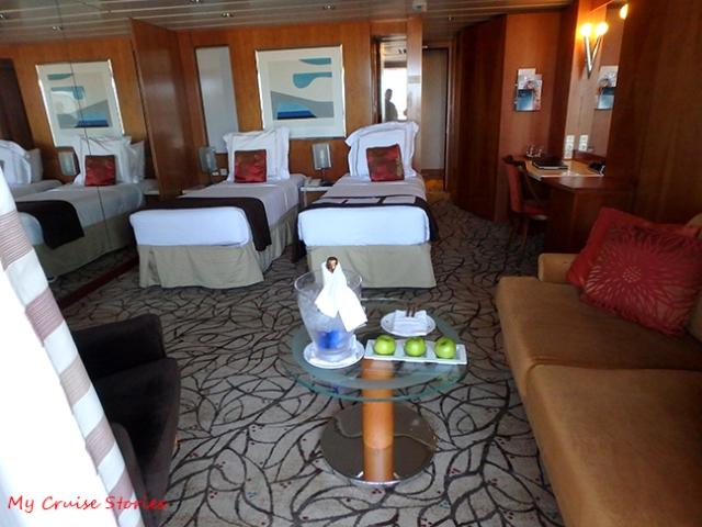 cruise ship accommodations