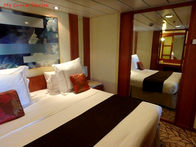 cruise ship accommodations