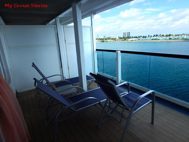 really big balcony