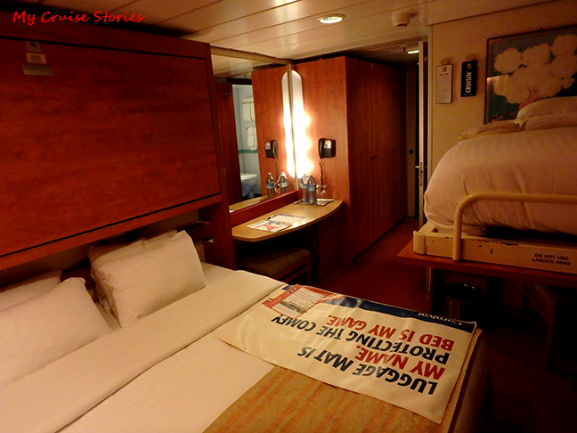 old style cruise ship bunks