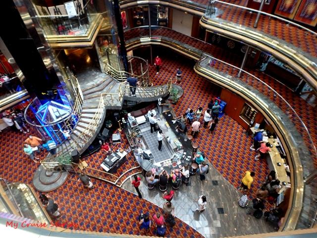 center of the ship
