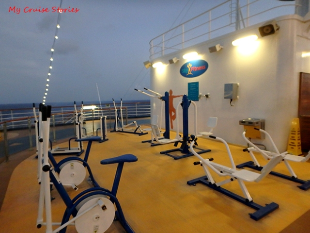 keeping fit on a ship