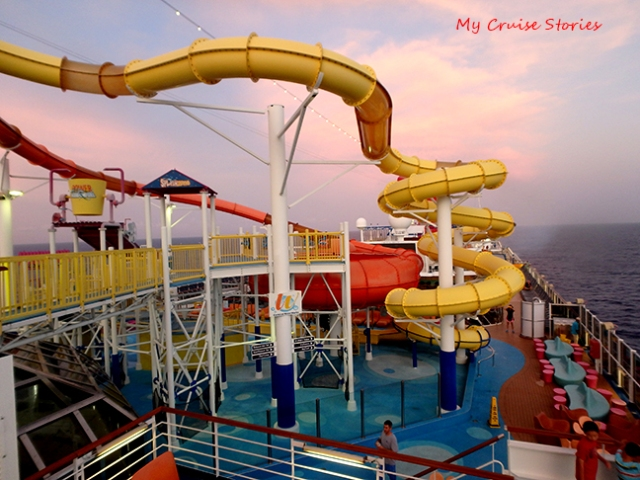 fun on Carnival Breeze