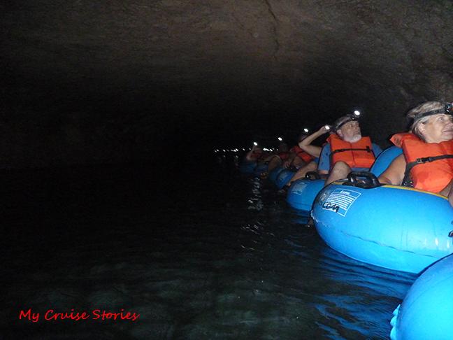 cave tubing is fun