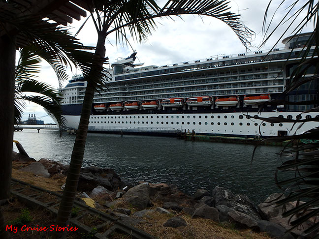 cruise ship in Guatemala