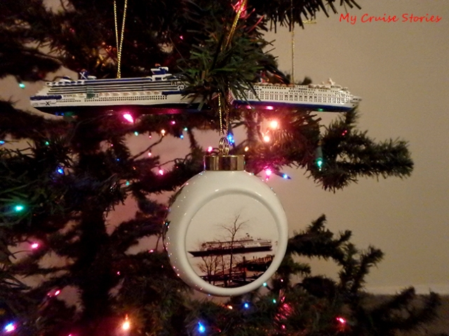 christmas ornament ships