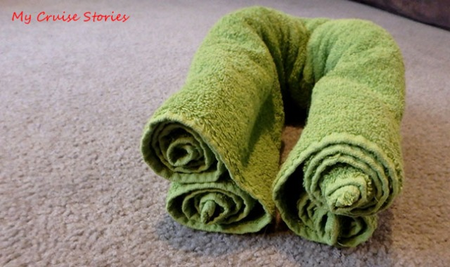 how to make towel creations