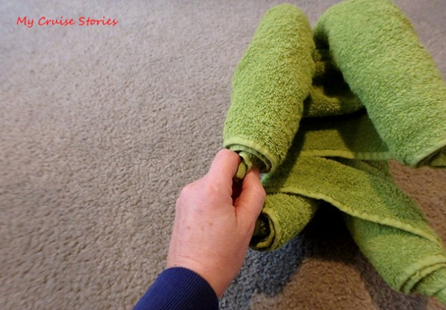 the art of towel folding