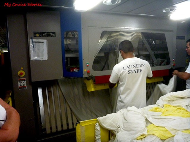 cruise ship laundry