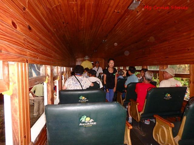old fashioned train car