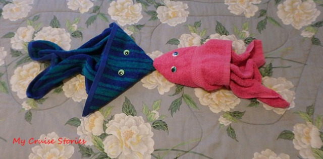 create your own towel fish