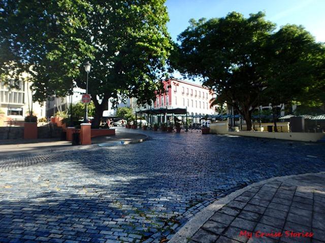 blue brick road