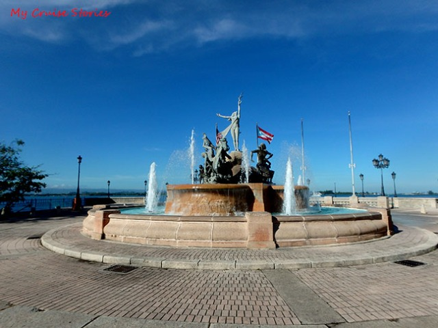 fountain in San Juan