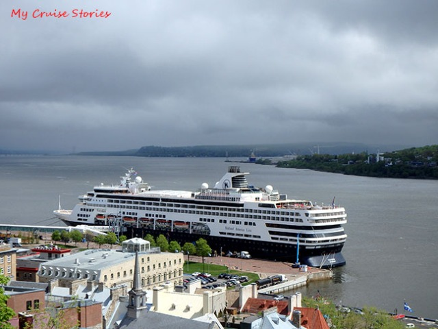 Quebec cruise port