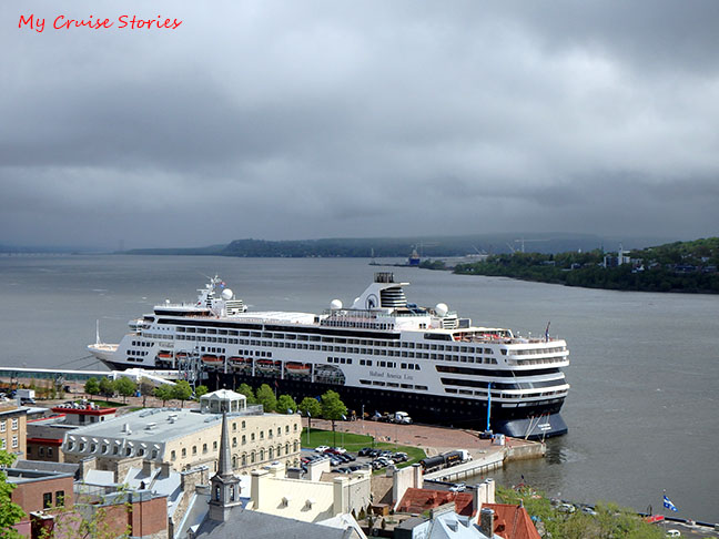 Quebec cruise port
