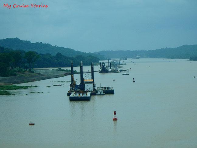 Panama Canal Dredges