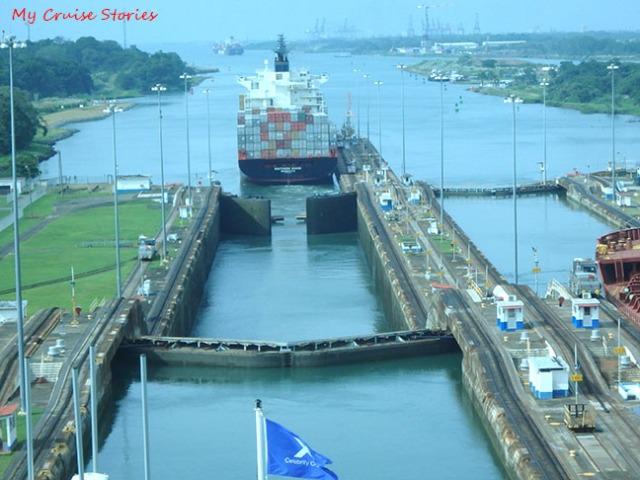 locks at Panama Canal
