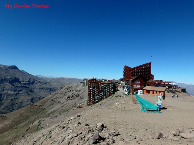 Andes Mountain ski resort