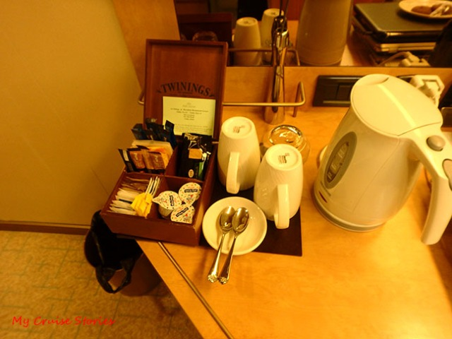 in-room tea service