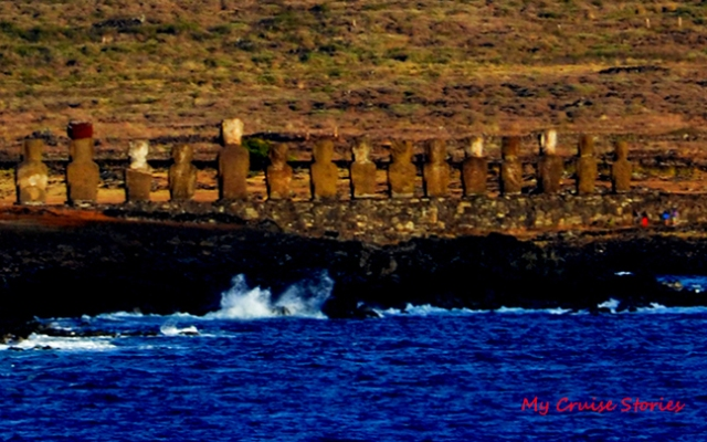 sea view of Moai