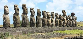 moai faces
