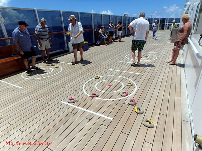 British cruise ship games