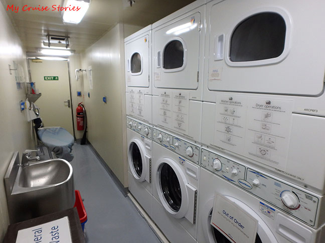 free laundry on a cruise