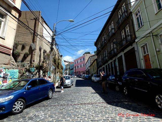 streets of Valparaiso