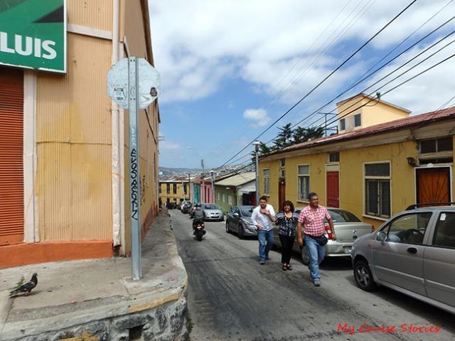 hills of Valparaiso