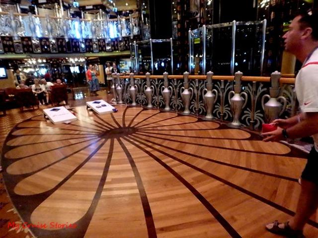 cruise ship games