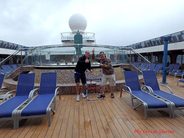 cruise ship deck games