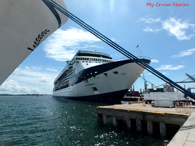 Celebrity Infinity in Columbia