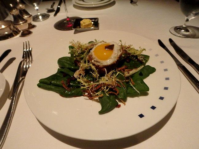 fancy cruise ship salad