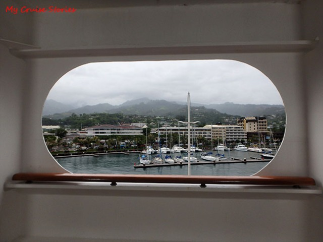 port at Papeete