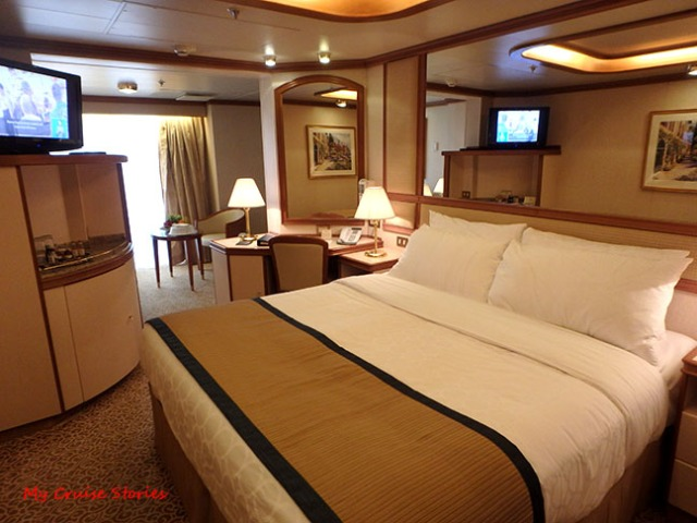 cruise ship suite