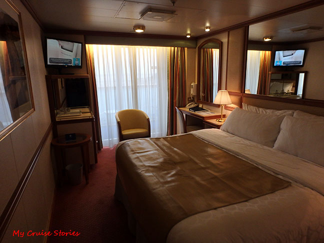 stateroom with balcony