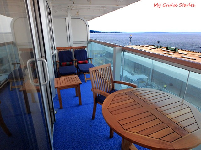 Cruise ship cabins on ruby princess cruise stories for Balcony in cruise ship