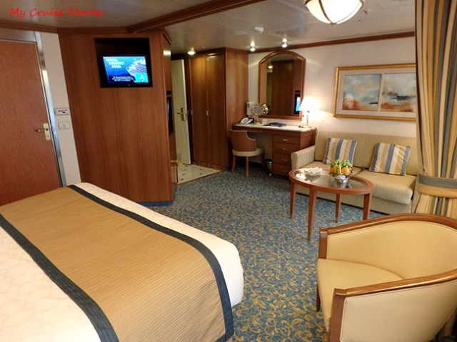 accessible cruise ship suite