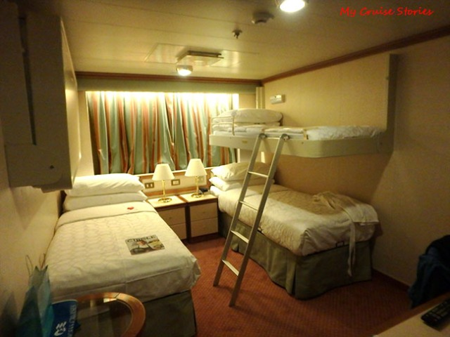 The oceanview obstructed room cruise stories for Princess cruise interior cabin