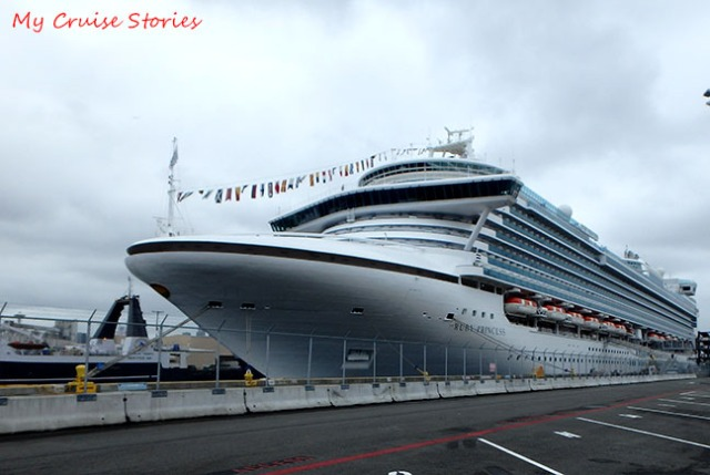 Ruby Princess cruise ship