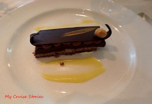 fancy chocolate dessert
