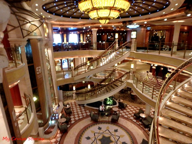 central area of Ruby Princess