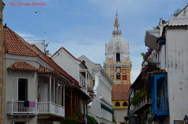 Cartagena city street