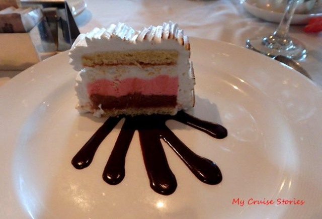 cruise food - Baked Alaska