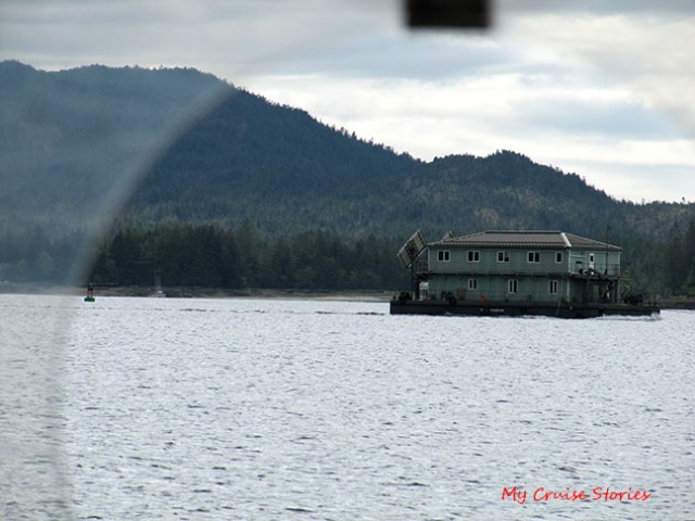 big floating house