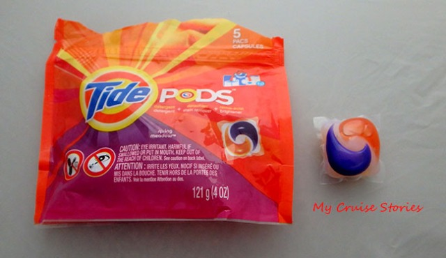 No worries about liquid or powder soap spills with laundry pods