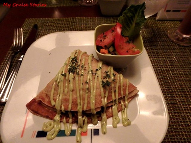 Bistro on Five chicken crepe
